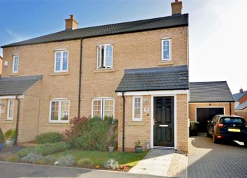Thumbnail 3 bed semi-detached house for sale in Cottesbrooke Way, Raunds, Wellingborough, Northamptonshire