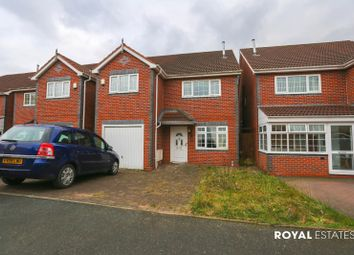 Thumbnail 4 bedroom detached house to rent in Inkberrow Close, Oldbury