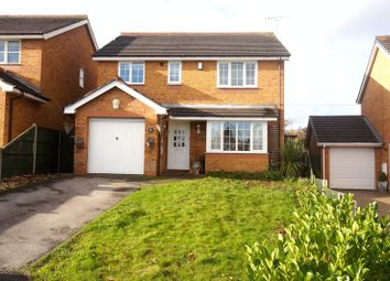 Thumbnail 4 bed detached house for sale in Lindisfarne Close, Ruabon, Wrexham