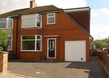 Thumbnail 4 bed semi-detached house for sale in Louvaine Avenue, Barrow Bridge, Bolton