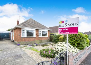 Thumbnail 3 bed detached bungalow for sale in Minstead Road, Bournemouth