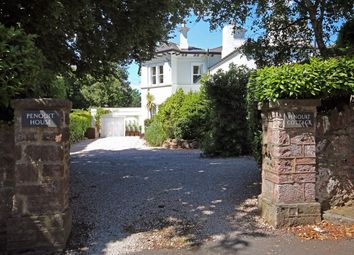 Thumbnail 4 bedroom flat for sale in Penquit House Woodend Road, Torquay