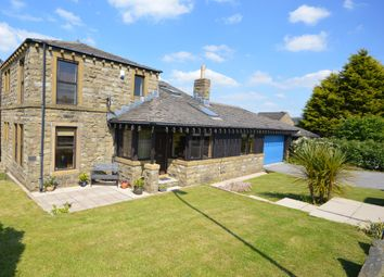 Thumbnail 4 bed detached house for sale in Windmill View, Scholes, Holmfirth