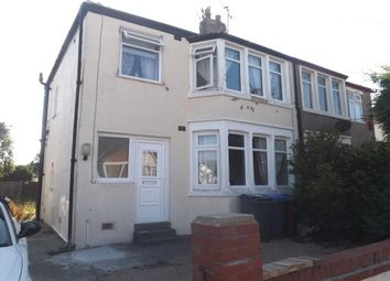 Thumbnail 3 bed semi-detached house to rent in Lockerbie Avenue, Thornton-Cleveleys