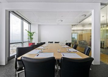 Thumbnail Serviced office to let in Bank Street, London