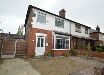Thumbnail 3 bed semi-detached house for sale in Spencer Avenue, Whitefield, Manchester