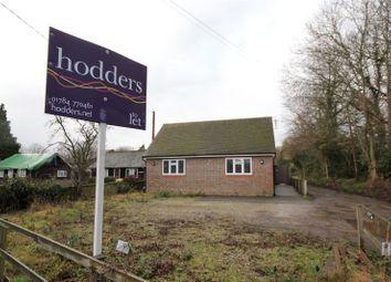 Thumbnail 4 bed detached bungalow to rent in Hurst Lane, Egham, Surrey