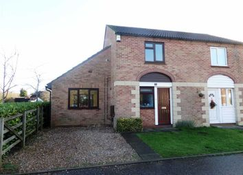 Thumbnail 2 bed semi-detached house to rent in Dolben Court, Willen, Milton Keynes