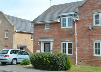 Thumbnail 3 bedroom semi-detached house to rent in Corfe Close, Corby, Northamptonshire