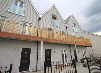 Thumbnail 3 bed terraced house to rent in Waterfront Promenade, Rowhedge, Colchester