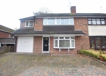 Thumbnail 4 bed property to rent in The Holloway, Compton, Wolverhampton