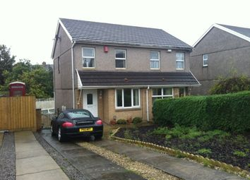 Thumbnail 2 bed semi-detached house to rent in Moorview Close, Gendros, Swansea.
