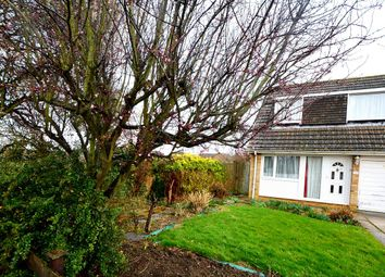 Thumbnail 3 bed semi-detached house for sale in Queens Avenue, Market Deeping, Peterborough