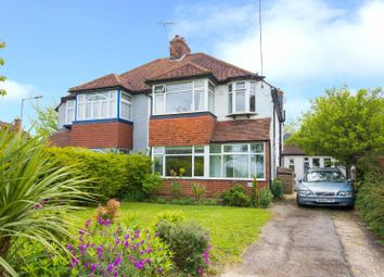 Thumbnail 4 bed semi-detached house for sale in Hampermill Lane, Watford, Hertfordshire