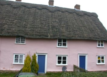 Thumbnail 2 bed cottage for sale in 2 Thatched Cottages, Top Road, Rattlesden, Bury St Edmunds, Suffolk