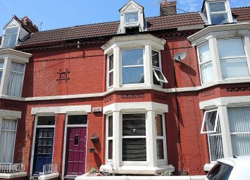 Thumbnail 4 bed terraced house to rent in Ampthill Road, Aigburth, Liverpool