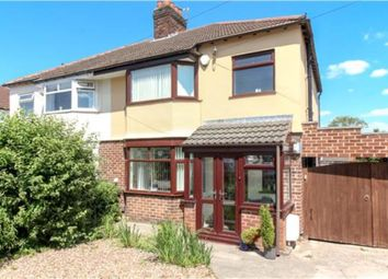 Thumbnail 3 bed semi-detached house for sale in Crossefield Road, Cheadle Hulme