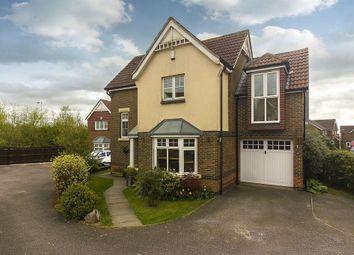 Thumbnail 4 bed detached house for sale in Rose Walk, Hawkinge, Folkestone