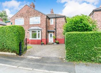 Thumbnail 2 bedroom semi-detached house for sale in Weller Avenue, Chorlton, Manchester, Greater Manchester