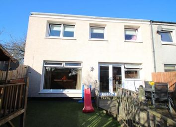 Thumbnail 3 bedroom end terrace house for sale in Ashiestiel Place, Cumbernauld, Glasgow, North Lanarkshire