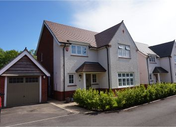 Thumbnail 4 bed detached house for sale in Gerddi'r Afon, Bridgend