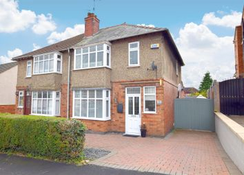 Thumbnail 3 bed semi-detached house for sale in Mostyn Avenue, Littleover, Derby