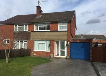 Thumbnail 3 bed semi-detached house to rent in Larch Grove, Malpas