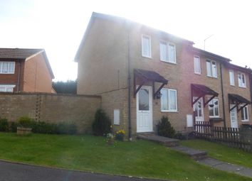 Thumbnail 1 bed end terrace house for sale in Ranmore Close, Tollgate Hill, Crawley