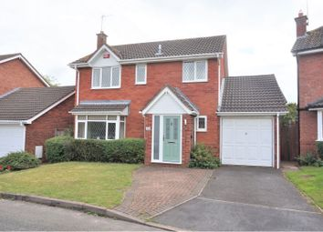 Thumbnail 4 bed detached house for sale in Carmichael Close, Lichfield