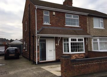 Thumbnail 3 bed semi-detached house for sale in Davy Avenue, Scunthorpe
