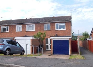 Thumbnail 3 bed end terrace house to rent in Orchid Close, Eastbourne