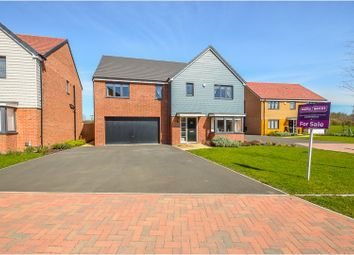 Thumbnail 5 bed detached house for sale in Tysoe Close, Wootton
