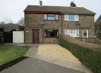 Thumbnail 2 bed semi-detached house to rent in Parks Avenue, South Wingfield, Alfreton