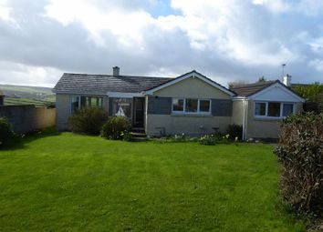 Thumbnail 3 bed detached bungalow to rent in Atlantic Close, Treknow, Tintagel