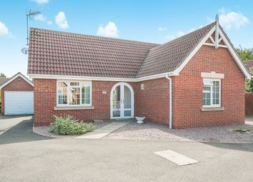 Thumbnail 2 bed detached bungalow for sale in Southfields Close, Wisbech