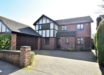 Thumbnail 4 bed detached house for sale in Milton Road, Bramhall, Stockport