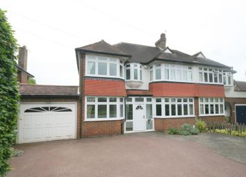 Thumbnail 4 bedroom semi-detached house to rent in Great Tattenhams, Epsom