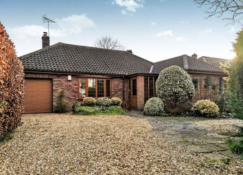 Thumbnail 3 bedroom detached bungalow for sale in Keswick Road, Cringleford, Norwich