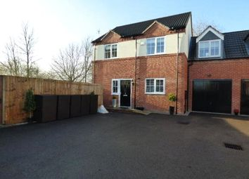 Thumbnail 4 bedroom link-detached house for sale in Union Mill Close, Earl Shilton, Leicester