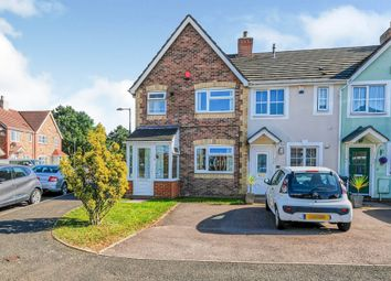 Thumbnail 3 bed end terrace house for sale in Radlow Crescent, Marston Green, Birmingham