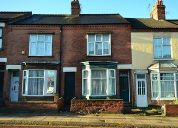 Thumbnail 2 bed terraced house for sale in Welford Road, Knighton Fields, Leicester