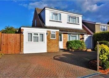 Thumbnail 4 bed detached house for sale in Dorchester Close, Basingstoke