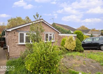 Thumbnail 2 bed detached bungalow for sale in Hillside Crescent, Weldon, Corby, Northamptonshire