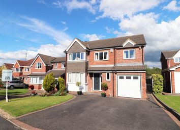 Thumbnail 4 bed detached house for sale in Caudwell Close, New Tupton, Chesterfield