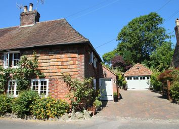 Thumbnail 3 bed semi-detached house for sale in The Row, Elham, Canterbury
