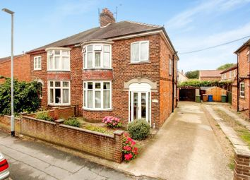 Thumbnail 3 bed semi-detached house for sale in Scarborough Road, Driffield