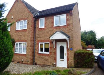 Thumbnail 2 bed semi-detached house for sale in May Close, Swindon