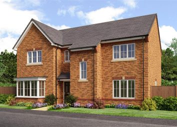 "Thumbnail 5 bed detached house for sale in ""Rosebury"" at Backworth, Newcastle Upon Tyne"
