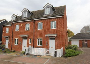 Thumbnail 3 bed end terrace house for sale in Hew Watt Close, Orsett, Grays, Essex