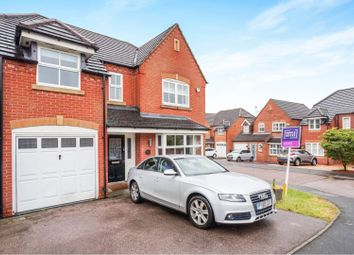 Thumbnail 4 bedroom detached house for sale in Skinners Way, Swadlincote